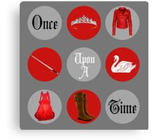 Emma Swan, Once Upon a Time Canvas Print