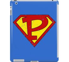Superman P Letter iPad Case/Skin