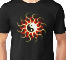Yin Yang Sun Unisex T-Shirt