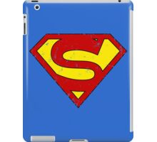 Superman S Letter iPad Case/Skin
