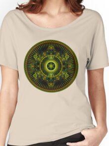 Metatron's Magick Wheel ~ Sacred Geometry Women's Relaxed Fit T-Shirt