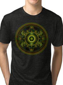 Metatron's Magick Wheel ~ Sacred Geometry Tri-blend T-Shirt