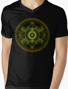 Metatron's Magick Wheel ~ Sacred Geometry Mens V-Neck T-Shirt