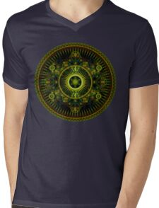Metatron's Magick Wheel ~ Sacred Geometry Mens V-Neck T-Shirt