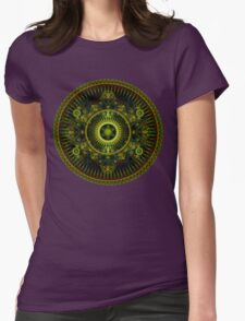 Metatron's Magick Wheel ~ Sacred Geometry Womens Fitted T-Shirt