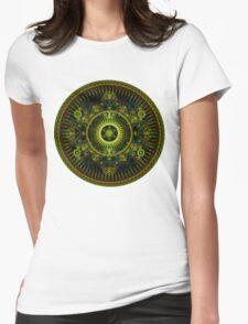 Metatron's Magick Wheel ~ Sacred Geometry Womens Fitted T-Shirt