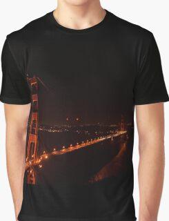 Night @ Golden Gates Graphic T-Shirt