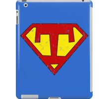 Superman T Letter iPad Case/Skin