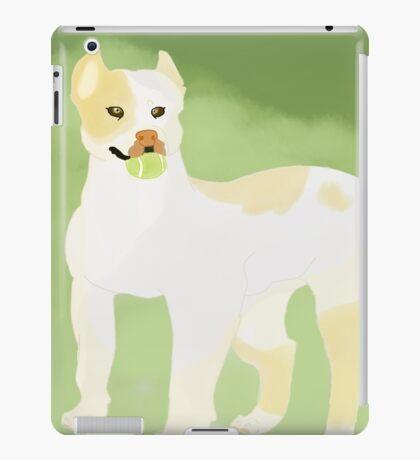 Pit Bull Fetch. iPad Case/Skin