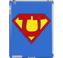 Superman U Letter iPad Case/Skin
