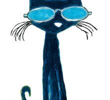 pete the cat Sticker
