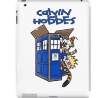Calvin And Hobbes Fun iPad Case/Skin