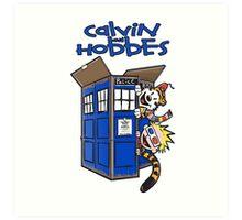 Calvin And Hobbes Fun Art Print