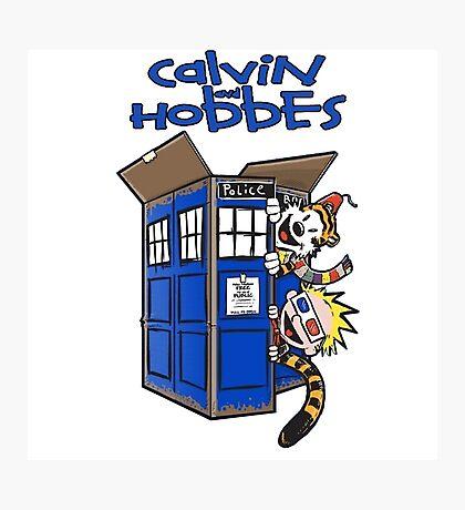 Calvin And Hobbes Fun Photographic Print
