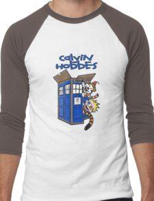 Calvin And Hobbes Fun Men's Baseball ¾ T-Shirt