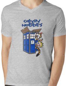 Calvin And Hobbes Fun Mens V-Neck T-Shirt