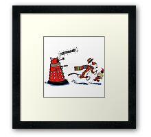Calvin And Hobbes Adventure Framed Print