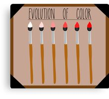 Evolution of Color Canvas Print