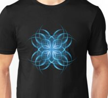 Tribal Ice - Fractal Art Design Unisex T-Shirt