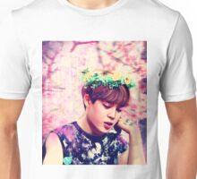 Jimin flowers Unisex T-Shirt