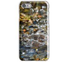 Raining Real Big Drops iPhone Case/Skin
