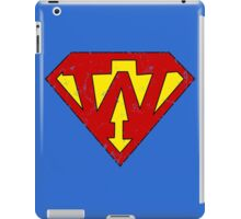Superman W Letter iPad Case/Skin