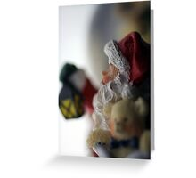 Shh! Santa's Coming Greeting Card