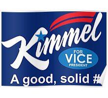 jimmy kimmel vice president Poster