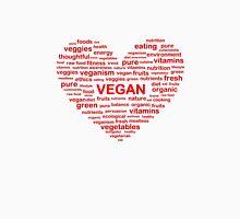 Heart Word Cloud Vegan Unisex T-Shirt