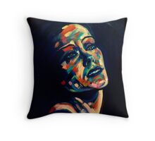 Gloria Swanson Throw Pillow