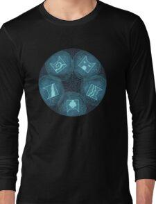 Warriors - Five Giants Wheel Long Sleeve T-Shirt