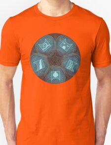 Warriors - Five Giants Wheel Unisex T-Shirt