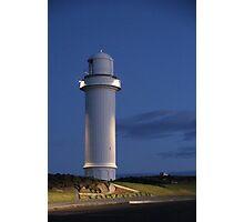 Night at the Lighthouse. Photographic Print