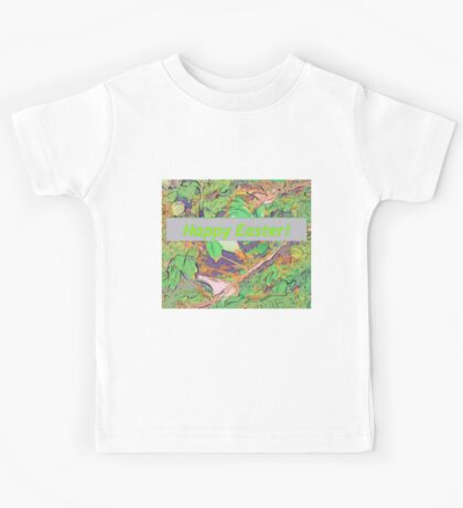 Bird scene at Easter Kids Tee