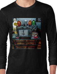Halloween III - Say You Love Satan 80s Horror Podcast Long Sleeve T-Shirt