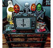 Halloween III - Say You Love Satan 80s Horror Podcast Photographic Print