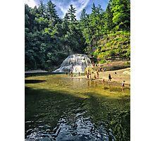 Buttermilk Waterfall  Photographic Print
