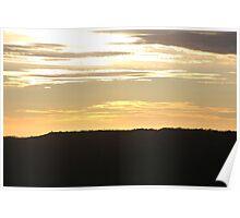 Golden Skies Poster