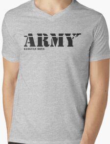 ARMY Bangtan Boys Mens V-Neck T-Shirt