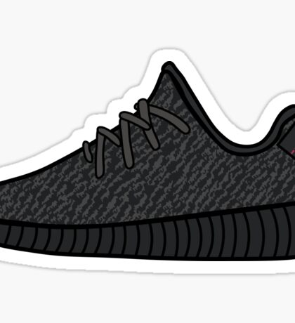 Yeezy Boost 350 Pirate Black Sticker