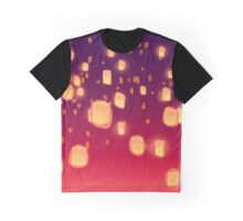 Floating Lanterns graphic dress and graphic t-shirt Graphic T-Shirt