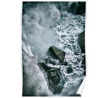 Niagara Rocks Poster