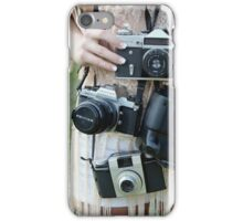 Cameras on Cameras iPhone Case/Skin