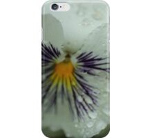 White and Purple Flower iPhone Case/Skin