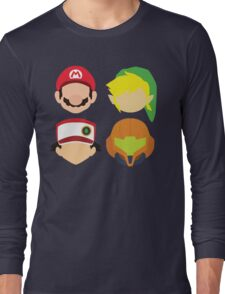 Nintendo Greats Long Sleeve T-Shirt