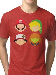 Nintendo Greats Tri-blend T-Shirt