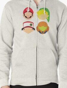 Nintendo Greats Zipped Hoodie