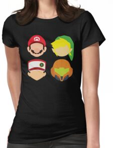 Nintendo Greats Womens Fitted T-Shirt