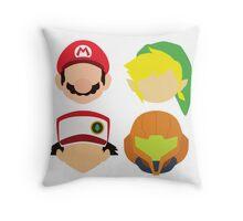Nintendo Greats Throw Pillow