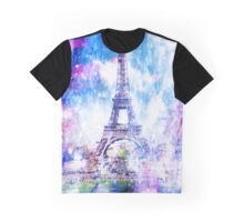 Rainbow Universe Paris Graphic T-Shirt